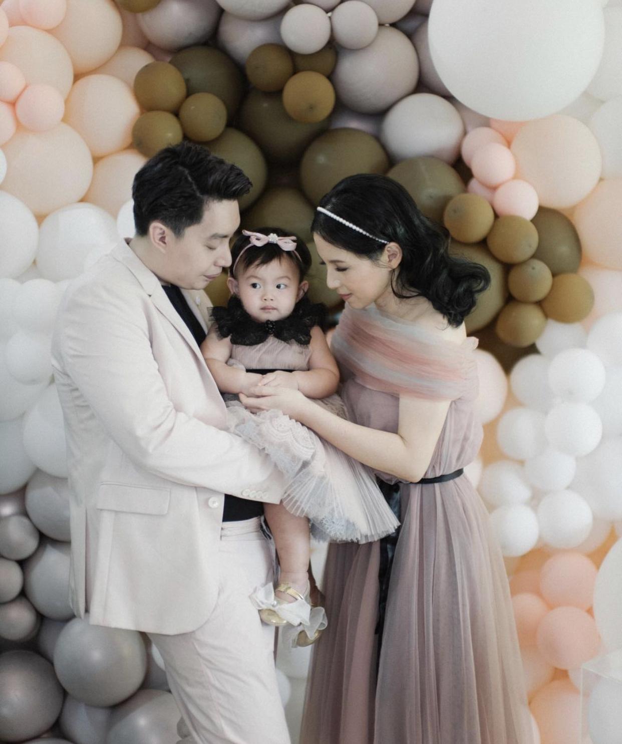 Rayakan Ulang Tahun Putri Pertamanya Edric Tjandra Menangis Haru