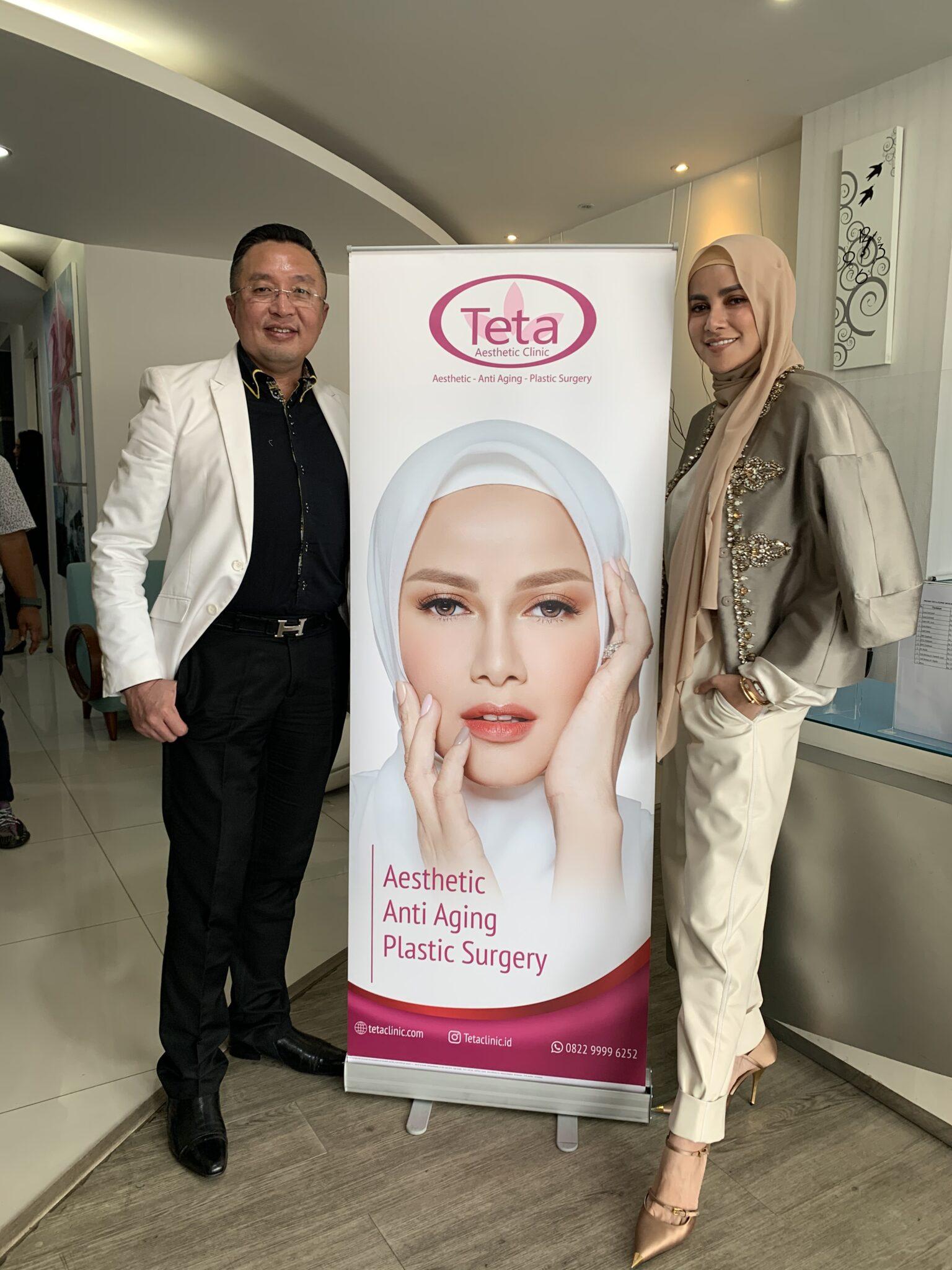 Penampilan Selalu Sempurna, Olla Ramlan Terpilih Sebagai Brand Ambasador Klinik Kecantikan